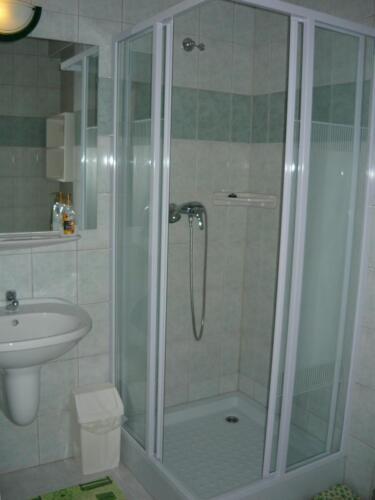 Labdarózsa családi szoba - zuhanykabin