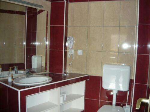 Liliom apartman - fürdőszoba