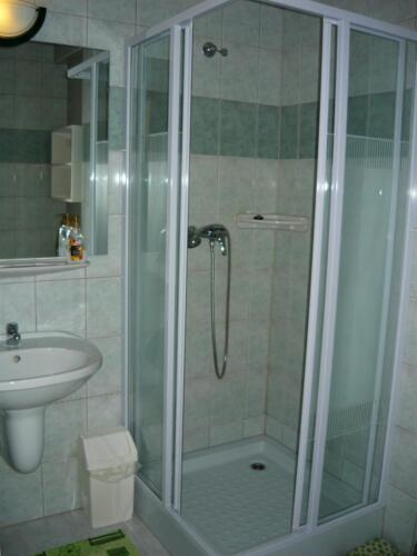 Szegfű családi szoba - zuhanykabin