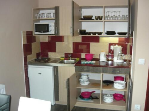 Tulipán apartman - konyhapult